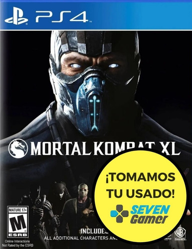 mortal kombat xl ps4 fisico playstation 4 nuevo sellado