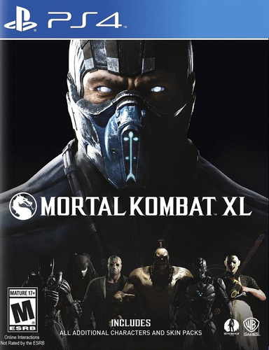 mortal kombat xl (ps4) juego fisico - phone store