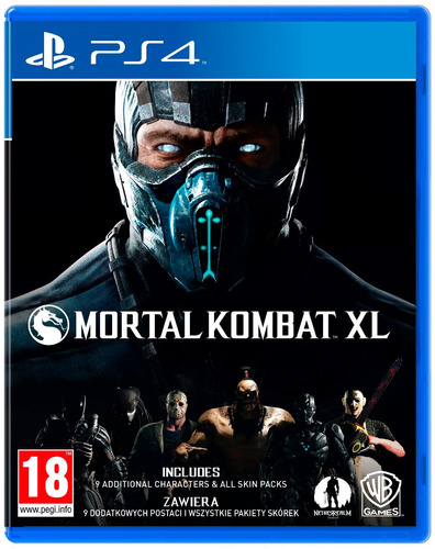 mortal kombat xl ps4 original fisico sellado nuevo alclick