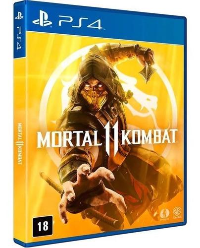 mortal kombate11 ps4 jogo totalmente  português midia fisica