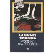 morte na alta sociedade, georges simenon