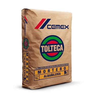 Mortero cemento para construccion 3 ton cdmx df y edo mex for Mortero de cemento
