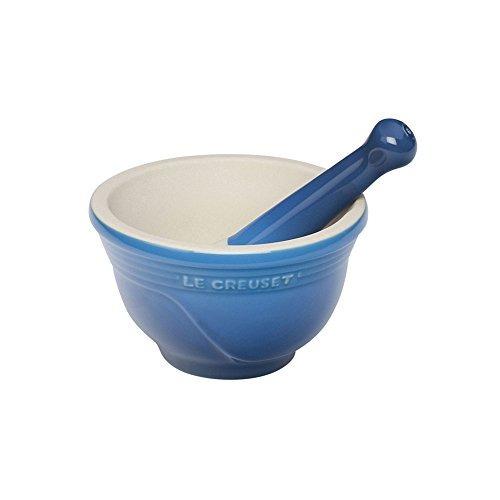 mortero y tejolote le creuset cerámica 10 oz marsella