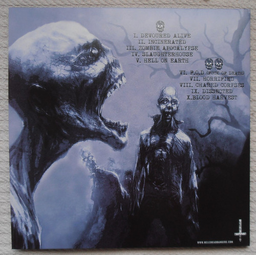 mortician - zombie apocalypse ( l p ed. u s a)