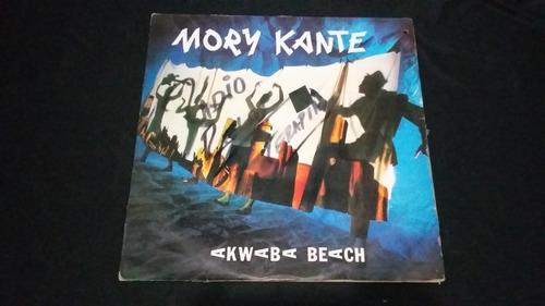 mory kante akwaba beach lp vinilo africano electronica