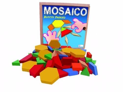 mosaico  blocos padrão com 100 peças