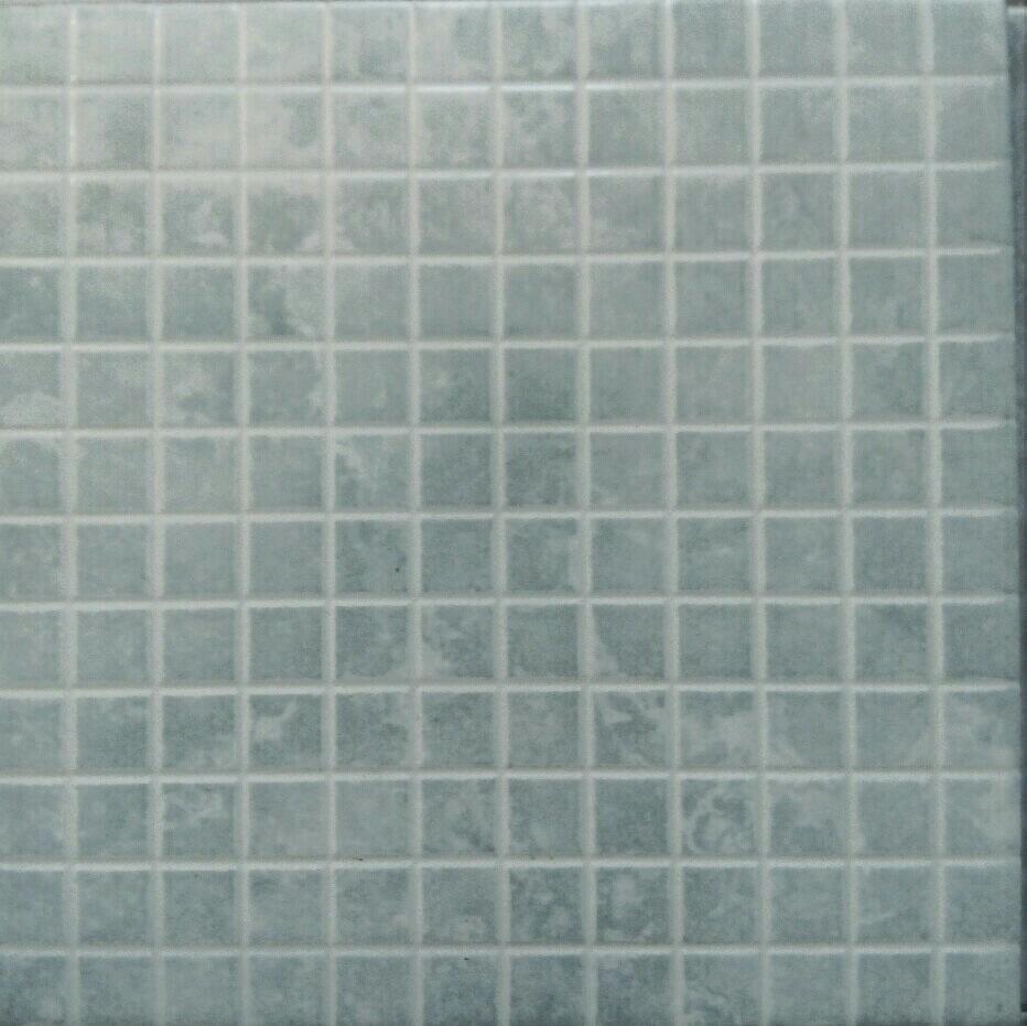 Mosaico ceramica para piscina o ba o azul claro 33x33 bs Mosaico para bano precios