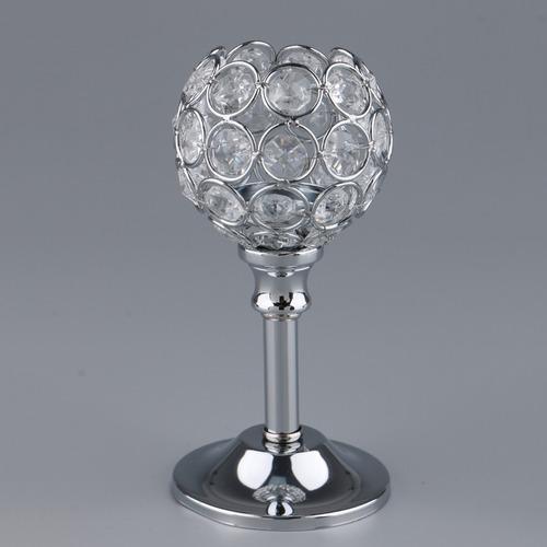 mosaico cristal vela titular de té luz candelabro candelero