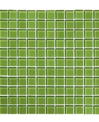 mosaico cristal verde oscuro 30 x 30 ue 11 corona v00011481