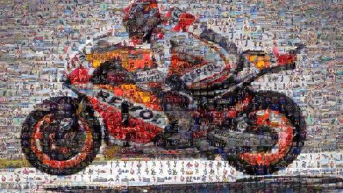 mosaico de fotos fotomosaico medida a elegir!!