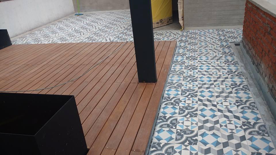 Mosaico de pasta fabrica piso en mercado libre for Fabrica de pisos
