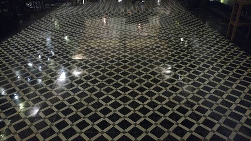mosaico de pasta fabrica piso