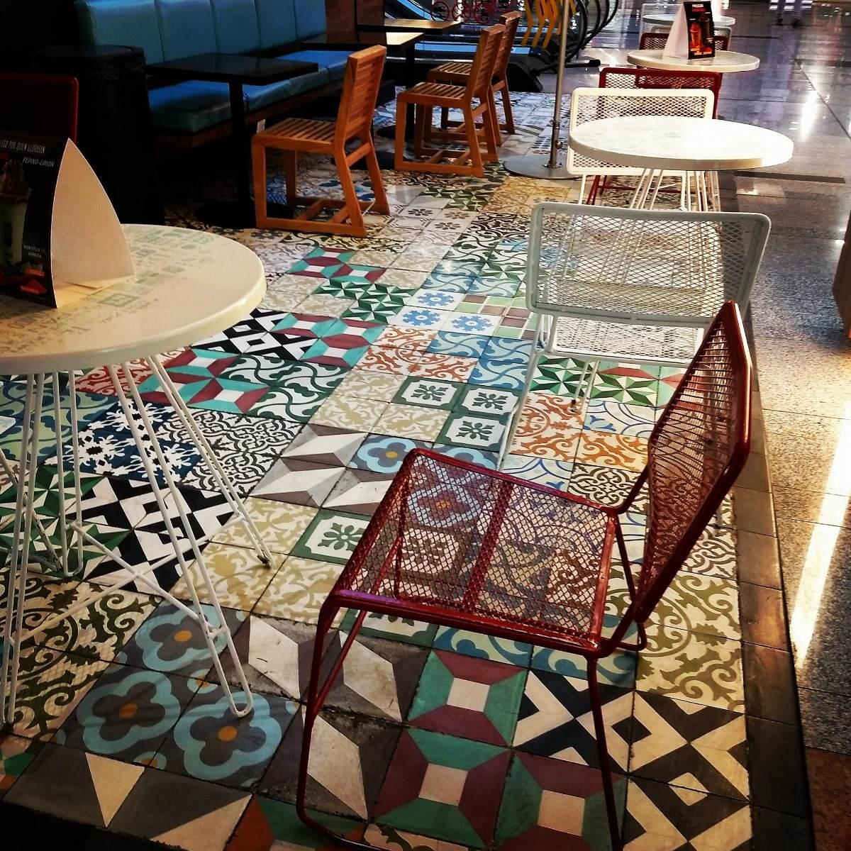 Mosaico de pasta piso hidraulico en mercado libre for Mosaico para piso