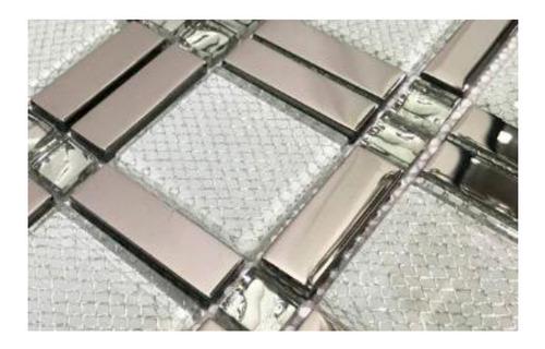 mosaico malla decorativa para muro 10 pzas c/envio gratis