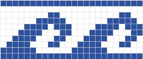 mosaico veneciano azul acapulco 2x2 para albercas