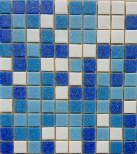mosaico veneciano azul cobalto para alberca o baños