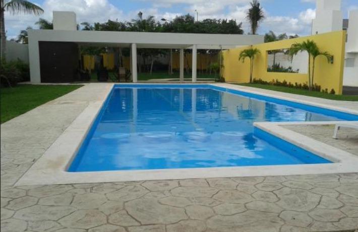 Mosaico veneciano azulejo alberca piscina azul canc n for Cuanto sale construir una piscina