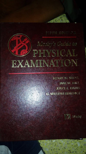 mosby's guide to physical examination