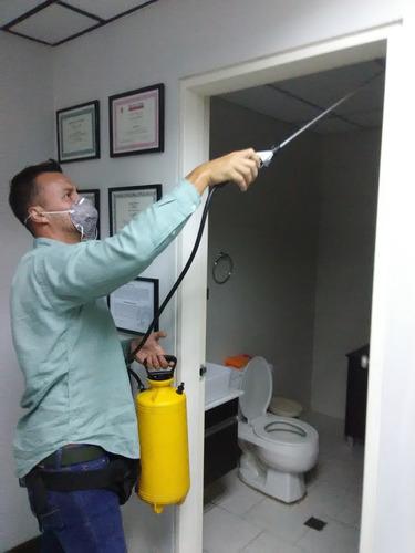 moscas zancudos termitas chiripas fumigaciónes garantizada