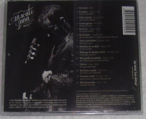 moscato luna - moscato luna cd argentino impecable