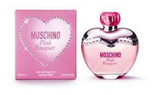 moschino glamour pink bouquet dama 100ml