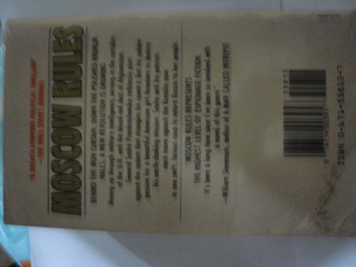 moscow rules de robert moss -novela en ingles