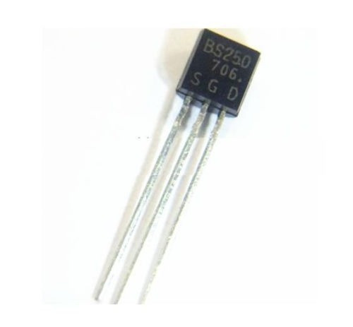mosfet canal p bs250 transistor bs250 to-92
