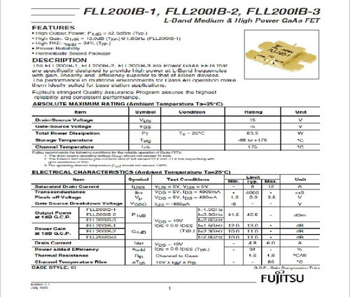mosfet fll200ib-3 o fll200-3