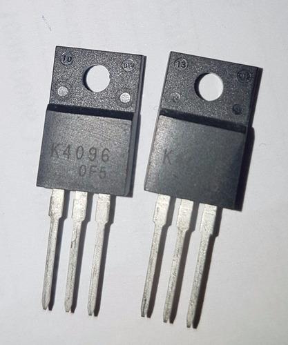 mosfet lote 2 peças 2sk4096 k4096 to-220f novo