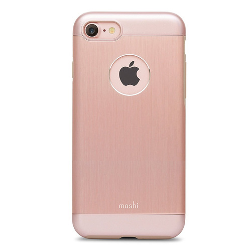 moshi armor iphone 7 oro rosa + envio gratis
