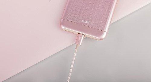 moshi integra usb con conector rayo 12 m de oro rosa