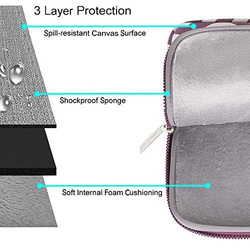 mosiso chevron manga con correa de hombro sólo para macbook