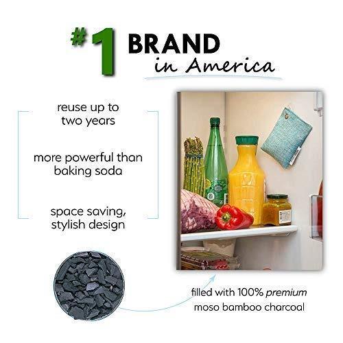 moso bolso purificador de aire natural para su refrigerador