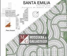 mosquera y gallastegui - terreno en santa emilia - pilar del este