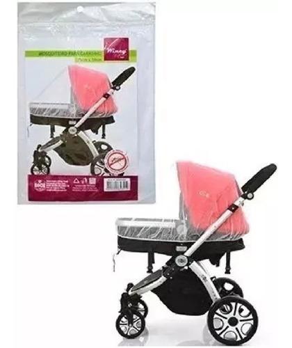 mosqueteiro com elástico para carrinho de bebê #