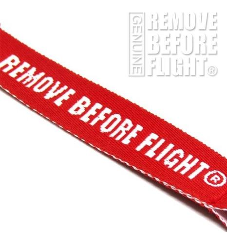 mosqueton remove before flight ®