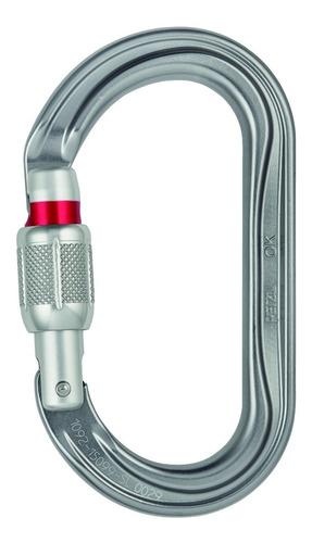 mosquetón sistema bloqueo screw-lock ok petzl