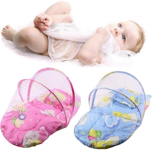 mosquiteiro infantil berco portatil com bolsa de transporte