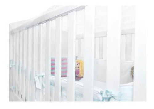 mosquiteiro tela para berco elastico protege bebe kababy.