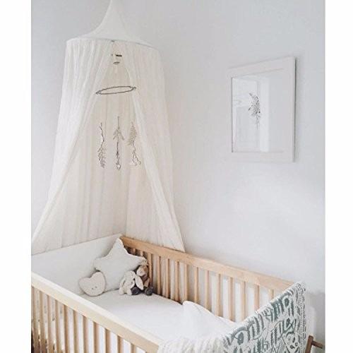 Mosquitera para cama o cuna decorativa blanca 2 399 Mosquitera para cama