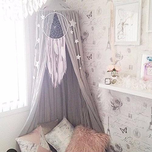 Mosquitera para cama o cuna decorativa gris 2 - Mosquitera para cama ...