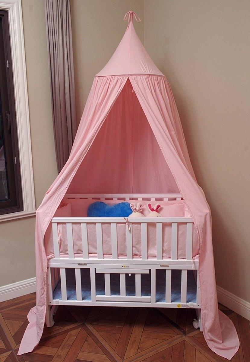 mosquitera para cama o cuna decorativa rosa 2 en mercado libre. Black Bedroom Furniture Sets. Home Design Ideas