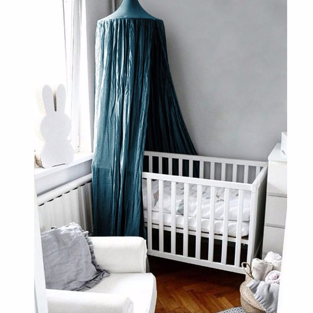 Mosquitera para cama o cuna decorativa verde oscuro - Mosquitera para cama ...