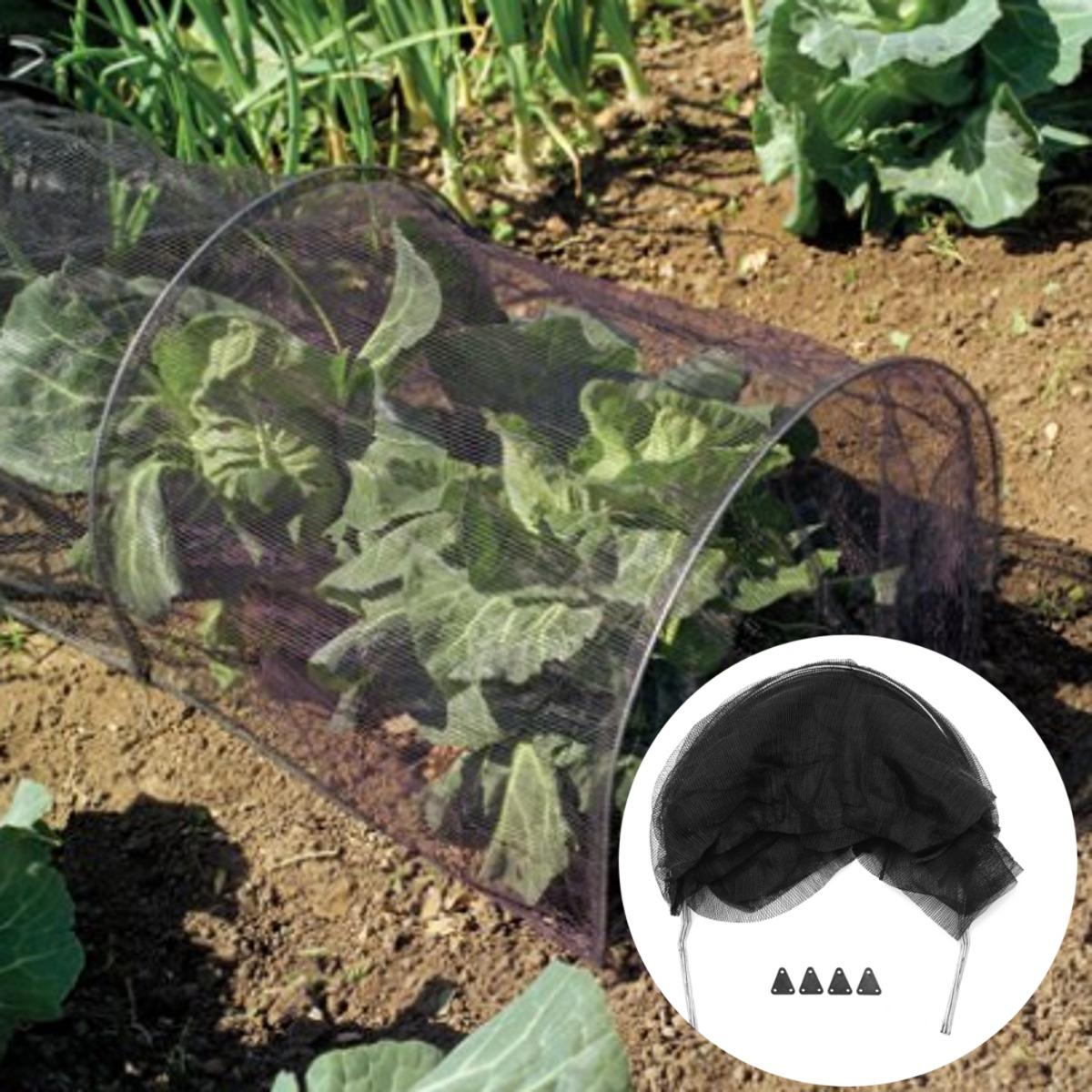 mosquitera plegable para plantas de jardín con sombra, túnel