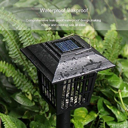 mosquiteras solares zapper al aire libre patio volador insec