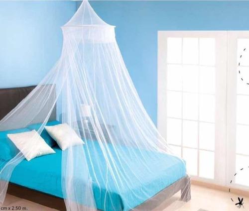 mosquitero cama pabellon indvidual/matrimonial