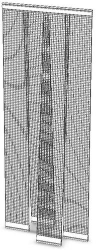 mosquitero cortinas de bandas 0.85 x 2.10