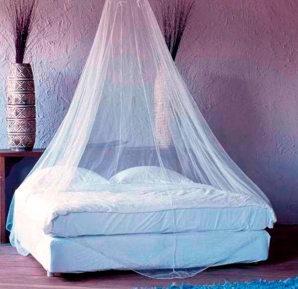 Mosquitero de dopiovelo para cama individual somos tienda for Mosquiteras para camas