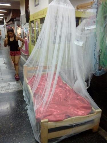 mosquitero para cama de 1 plaza y 1/2 color a eleccion!!!