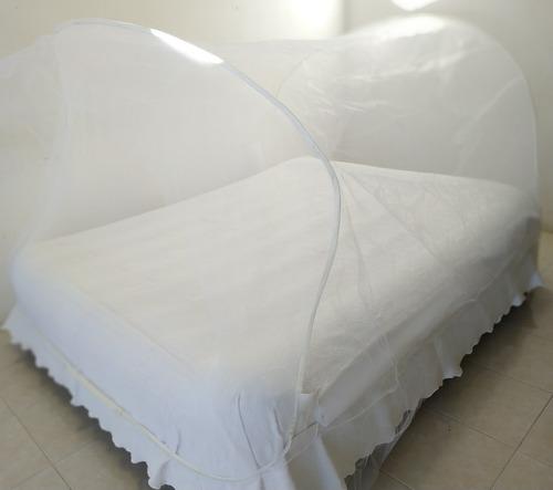 mosquitero plegable p/cama no necesita colgarse!!!